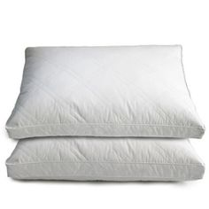 Get ready for a good night's sleep with these Goose and Feather Down Pillows. Filled with a combination of goose down and goose feathers with a 233 thread count quilted cotton cover. The perfect blend of comfort and quality.