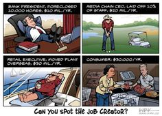 The truth about who actually creates #jobs in one simple graphic.