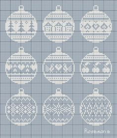 ru / Photo # 121 - New Year and / freebies - Jozephina Cross Stitch Christmas Ornaments, Xmas Cross Stitch, Cross Stitch Needles, Cross Stitch Cards, Christmas Embroidery, Cross Stitching, Cross Stitch Embroidery, Christmas Baubles, Christmas Cross Stitches