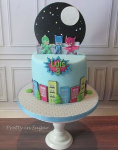 Image result for pj masks cake
