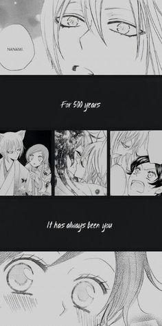 500 years .. ♡  Manga: Kamisama Hajimemashita