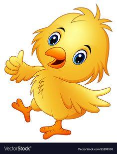 Cartoon Pics, Cartoon Drawings, Cute Cartoon, Art Drawings For Kids, Art For Kids, Baby Animals, Cute Animals, Baby Ducks, Baby Chickens