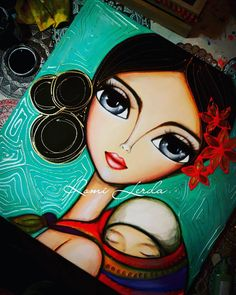 """La belleza del amor"" 50 x 50 #romilerdart #romilerdaespaciodearte #citybell  Degas Plus Degas Plus"