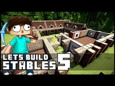 Minecraft Medieval Horse Stable Minecraft lets build: stables