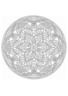 This expert Mandala coloring sheet is a fun design and super challenging to color. Mandala coloring page can be decorated online with the . Mandalas Painting, Mandalas Drawing, Mandala Coloring Pages, Coloring Book Pages, Printable Coloring Pages, Coloring Sheets, Zentangles, Mandala Design, Mandala Art