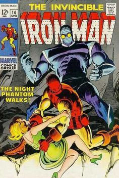 Iron Man 14. Great Johnny Craig artwork and the first Iron Man I ever read.