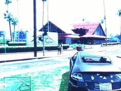 Yes, those buildings in the background are #KillerCafe & #KillerShrimp in #MarinaDelRey just renamed for #GrandTheftAutoV