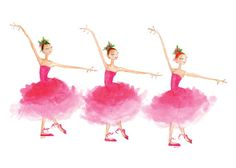 THE NUTCRACKER  Mirlitons  Printed Card  3  by TheArtfulBumblebee, $4.00
