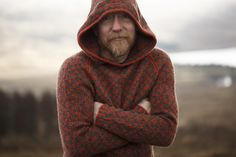 Ravelry: The Oa pattern by Kate Davies Designs The Oa, Pattern Library, Ravelry, Men Sweater, Jumper, Going Out, Knit Crochet, Raincoat, Turtle Neck