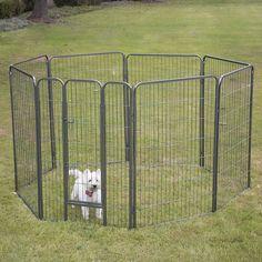 Pet Playpen 8 Panel Exercise Yard Kennel