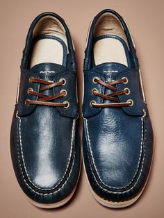 Sully Leather Boat Shoe by Frye at Gilt