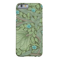 Wallpaper Pattern Sample with Forget-Me-Nots Barely There iPhone 6 Case - sample design diy personalize idea