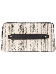 i like the HANDle Milly Mercer Snake Clutch | Piperlime