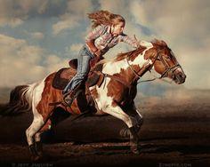Photograph Run Fast by Jeff Jaquish on Barrel Racing Horses, Barrel Horse, Most Beautiful Animals, Beautiful Horses, Cowgirls, Woman Riding Horse, Rodeo Girls, Horse Girl Photography, Rodeo Life