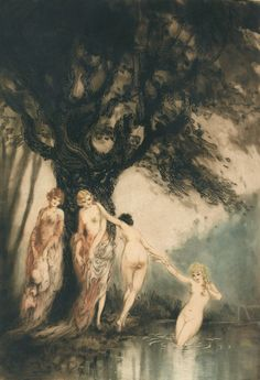 Louis Icart 1890-1950 | French Art D�co painter and illustrator