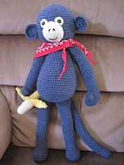 Ravelry: Extra Large Monkey pattern by Sharon Ojala