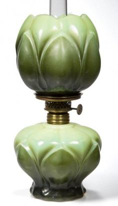 Extremely Rare Tulip Miniature Oil Lamp