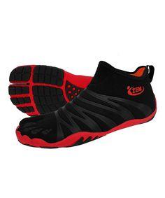 Black & Brick Hero Ninja Hi Boot Minimalist Running Shoe - Women | Daily deals for moms, babies and kids
