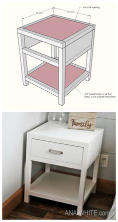 deSmall bookshelf or bedside tableSmall bookshelf or bedside tableTrendy diy crafts for teen girls bedroom night stands Ideas Bedroom Crafts de .Trendy diy crafts for teen girls bedroom Cheap Bedside Tables, Modern Bedside Table, Bedside Table Ideas Diy, Diy Crafts For Teens, Crafts Cheap, Teen Crafts, Kids Diy, Diy Nightstand, Easy Wood Projects