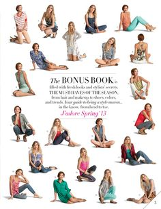 CAbi Bonus Book - Style Tips and Suggestions - CAbi. Fashionable looks to share!  Just saw the Spring Collection today!  Very cool items for this spring and summer.