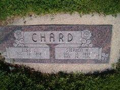 Stephen H. Chard Elsie Lavon Slater Chard