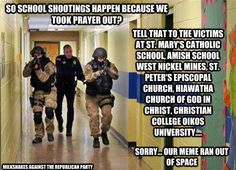 Prayers in school...