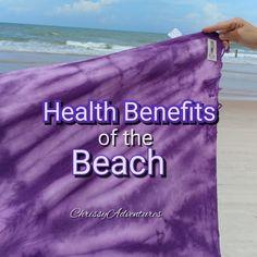 Health Benefits of the Beach 🌴