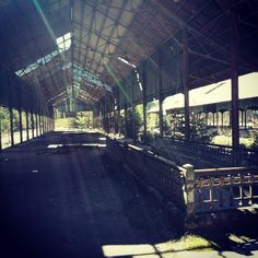 La vella estació #canfranc #oldies #tren #estación #walkingdead