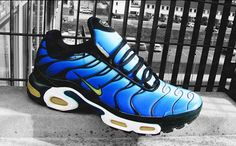 "Bring 'em Back: Nike Air Max Plus ""Hyper Blue"". I had a pair of these in maybe '98."