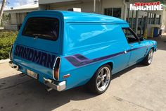 HOLDEN SANDMAN & FALCON GT351: TWO CLASSICS, ONE COMMUTE – BLOWIN' GASKETS Holden Muscle Cars, Aussie Muscle Cars, American Muscle Cars, Holden Australia, Big Girl Toys, Custom Muscle Cars, Holden Commodore, Australian Cars, Old Classic Cars