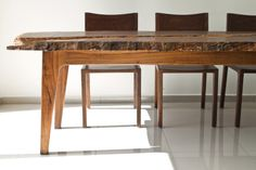 Tzalam table - ITZ - Mayan Wood Furniture