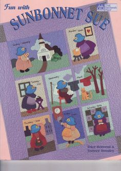 212 Fun with SUNBONNET SUE ok - maria cristina Coelho - Picasa Web Albums...FREE BOOK, PATTERNS AND INSTRUCTIONS!