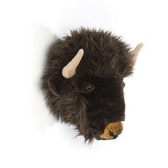 WILD & SOFT - Tierkopf Büffel Alex