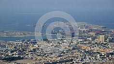 Image of Dubai downtown, top view of Dubai city, business industry, luxury buildings, united arab emirates, arabic urban street, cityscape, conceptual of tourism and vacation.