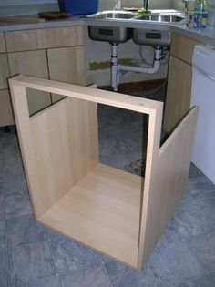 Best Diagonal Corner Sink Base 42 Oak Cabinet Kitchen 400 x 300