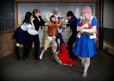 mirai nikki 12th cosplay - Google Search