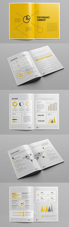 Annual Report Double Ink A4 Annual Business Report Templates - business annual report template