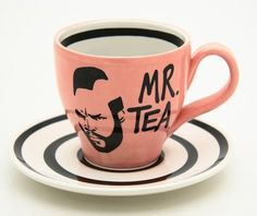 i need to channel Mr T when drinking tea.