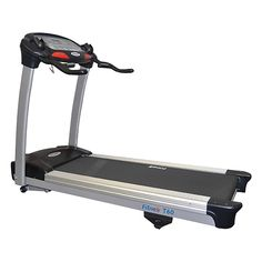 This Fitnex Light Commercial Treadmill offers an effective workout. This #treadmill is great for office #gyms, classes and is a workhorse for your home gym. It includes a heart rate monitor and a number of features that are typically found on much more expensive #treadmills. Some of these features include a 2.8 horsepower engine, a continuous PWM power system motor, with speeds that range from 0.5 to 10 miles per hour and go from 0 to a 15 degree incline.