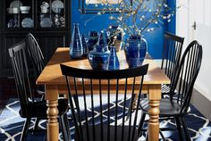 Dining Chairs Round Glass Table Top And Masons On Pinterest