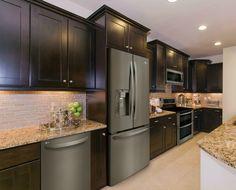 New kitchen rustic black stainless steel Ideas Kitchen Redo, Rustic Kitchen, New Kitchen, Kitchen Remodel, Kitchen Ideas, Slate Kitchen, Kitchen Images, Kitchen Modern, Updated Kitchen