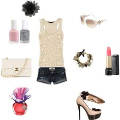 """innocent girl :)"" by clojogar on Polyvore"
