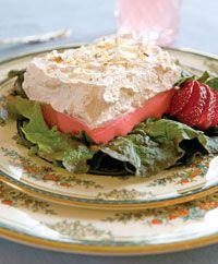 Creamy Strawberry Salad...TOS