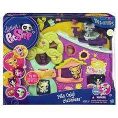 Littlest Pet Shop Pets Only! Clubhouse Playset (New)