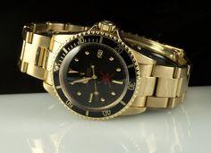 Rolex Submariner Full Gold Oman Nipple dial