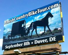 The Amish Country Bike Tour is in September