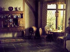 Old Home Interior | Interior Of An Old House Ii By NKG  Stockpile On