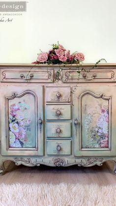 Condo Furniture, Refinished Furniture, Chalk Paint Furniture, Diy Furniture Projects, Repurposed Furniture, Unique Furniture, Shabby Chic Furniture, Shabby Chic Decor, Furniture Makeover