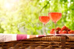 Rose Picnic http://i.istockimg.com/file_thumbview_approve/13408682/2/stock-photo-13408682-rose-wine-picnic.jpg