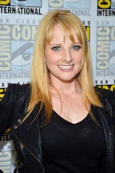 Melissa Rauch 2012-07-13 The Big Bang Theory Press Room at Comic-Con